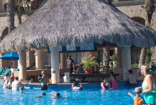 Swim up bar. royal solaris cabo - all inclusive resort
