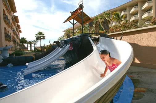 Water park and kids club at royal solaris los cabos - all inclusive resort